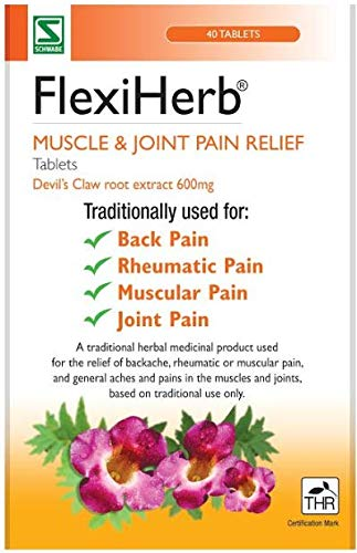 Flexiherb Devils Claw Root Extract 600mg - 40 Tablets