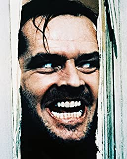 Erthstore 8x10 inch Photograph of Jack Nicholson The Shining Classic Here's Johnny Scene