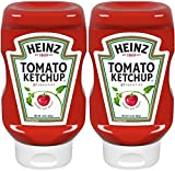 Heinz, Tomato Ketchup, 14oz Squeeze Bottle (Pack of 2)