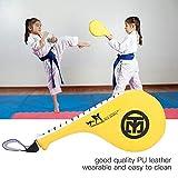 Alomejor 1Pz Kick Target Pads Doppio Strato di Progettazione Taekwondo Kick Pad Target per Formazione Punzonatura Boxe Karate