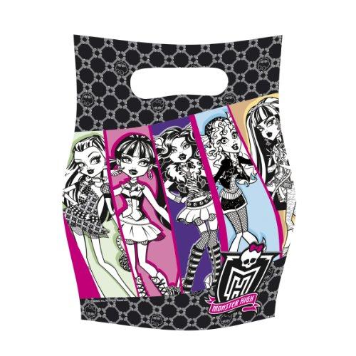 Monster High - R552251 - Kit De Fête - 6 Sacs De Fête