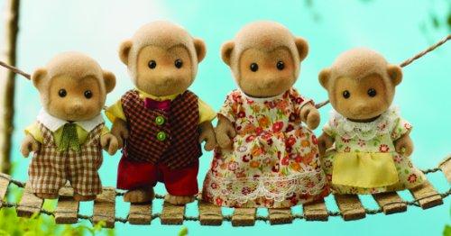 Sylvanian Family 3147 - Muñecos de la familia de los monos