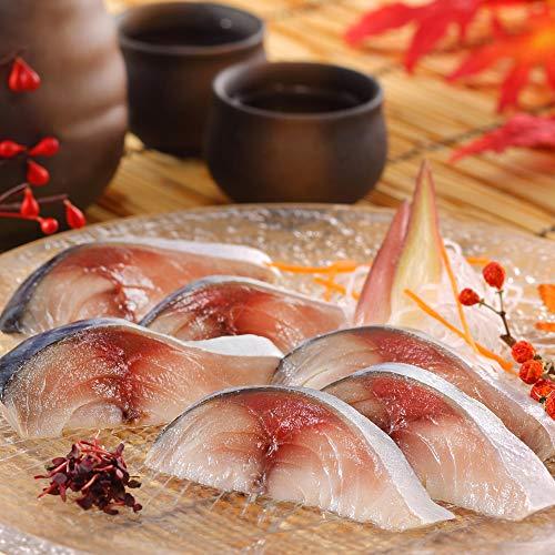 ディメール 鮨屋のしめ鯖3枚セット 約150g×3パック 米酢で浅〆めした生のお刺身に近い無添加しめさば