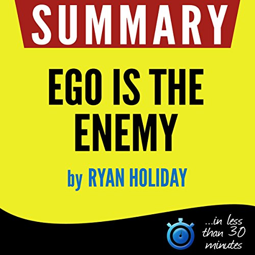 Summary: Ego Is the Enemy audiobook cover art