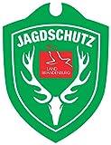 Waidmannsbruecke Erwachsene Jagdschutz Brandenburg Autoschild, Grün, One Size