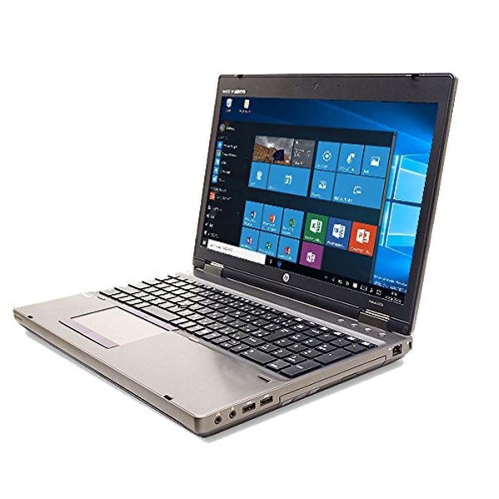 マチュピチュキャンパスヒロイックノートパソコン 中古 HP ProBook 6570b Core i5 4GBメモリ 15.6インチワイド DVD-ROMドライブ Windows10 MicrosoftOffice2007