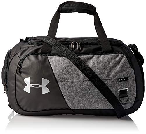 Under Armour Sportstyle Logo Tank, sportliches Muskelshirt aus superweichem Stoff, ärmelloses Sportshirt mit loser Passform Herren, White / Black, 2XL