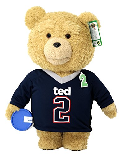 Ted 2 Movie-Size Plush Talking Teddy Bear Explicit Doll in Jersey, 24'