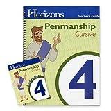 Horizons Penmanship Grade 4 Set