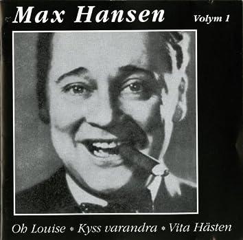Max Hansen, Vol. 1 (1932-1955)