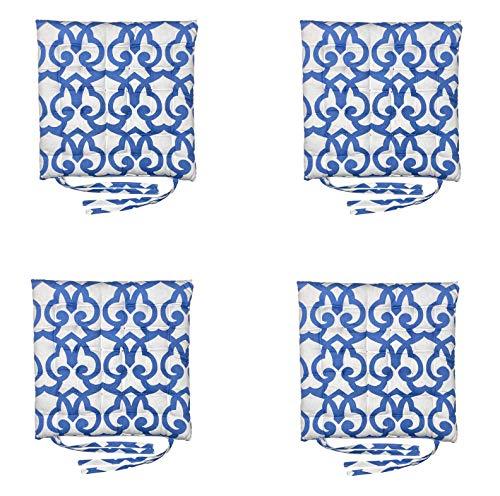 Homevibes - Cojines decorativos para sillas de comedor