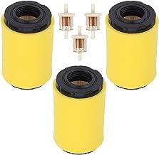 Trustsheer 796031 591334 Air Filter Foam Pre Cleaner for Briggs and Stratton 594201 5428 5428K 5421 797704 Engine John Deere GY21435 MIU13038 MIU13963 MIU14395 Tractor Mower