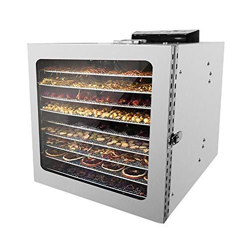 Fantastic Deal! SEAAN 10 Layer Fruit Dryer Dehydrator Machine Mesh Professional Food Dryer Sheets Ad...