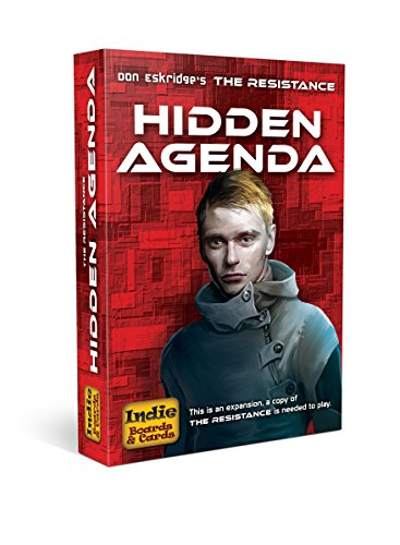 Indie Board & Card Games IBG0RE03 Brettspiel The Resistance: Hidden Agenda Expansion