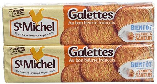 ST MICHEL Galettes au Bon Beurre Français 2 paquets de 130 g