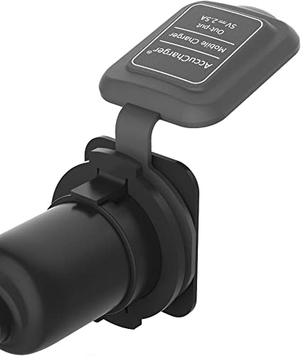 Accucharger IIP ACC 101 2 5A USB Mobile Charger for Two Wheeler Compatible with Activa 4G Aciva i Activa 125 Dio Aviator