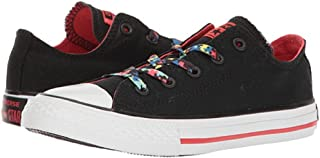 Converse Chuck Taylor All Star Ox Black/Ultra Red/White