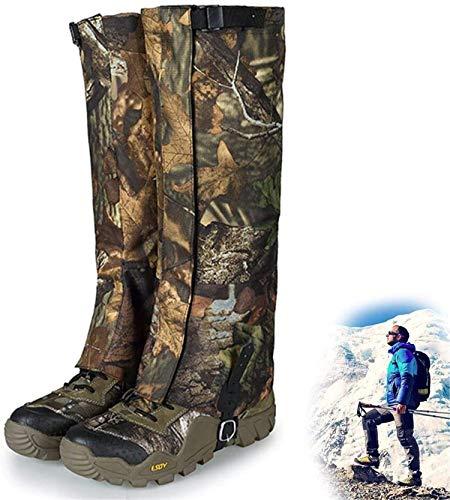 Runaty Polainas De Camuflaje Legging Botas De Snowboard Impermeables Cubierta De Zapatos De Trekking Cubiertas para Caminar Camping Vida Al Aire Libre Desierto L