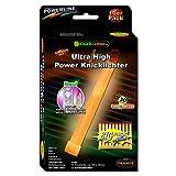 10 Knicklichter Leuchtstäbe ORANGE | Leuchtstäbe | 45 Minuten intensivst |150 x 15 mm | Ultra High...