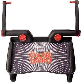 Lascal BuggyBoard Mini - carriola de paseo universal, se adapta a la mayoría de los cochecitos con el adaptador universal patentado, conexión rápida y desconexión, soporta hasta 66 libras, color negro