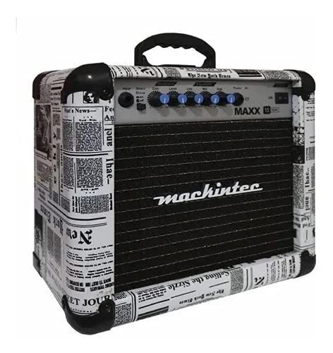 Cubo Amplificador de Guitarra Maxx 15 Mackintec - Jornal