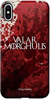 Macmerise IPCIXMPMI2230 Valar Morghulis - Pro Case for iPhone XS Max - Multicolor (Pack of1)