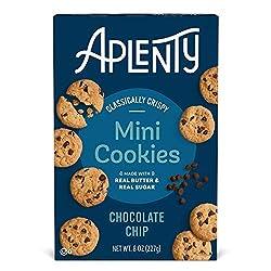 Aplenty, Chocolate Chip Mini Cookies, 8 oz