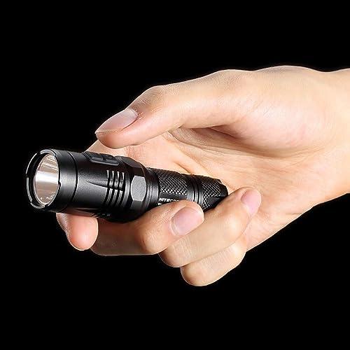 NITECORE 900 LMS EA11 U2 Lampe torche LED en alliage d'aluminium étanche pour randonnée, camping