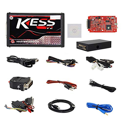 Blentude Kess V2 V5.017 Online-Version No-Tokens-Einschr/änkung V2.47 Kess V2 OBD2 Manager-Tuning-Kit Auto Truck ECU Programmer