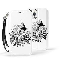 ムーミン スナフキン Iphone12 ケース 手帳型 耐衝撃 横置き機能 ストラップホール付き カードポケット付き Zarker 財布型 カバー アイフォン