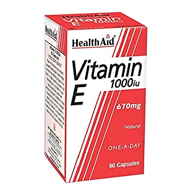 HealthAid Vitamin E 1000iu - 60 Capsules by HealthAid