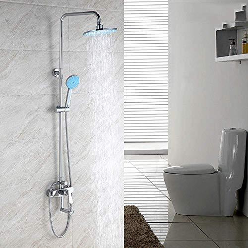Allamp Ascensor baño de Ducha Conjunto Oscuro en la Pared Ducha Conjunto Tercer Engranaje de Salida Hermosa práctica