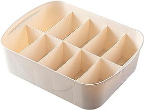 VALINK Organizer z szufladami na bieliznę pudełko do przechowywania bielizny z przegródką i pokrywką skarpety majtki organ...