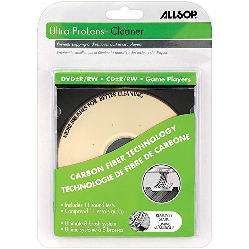 Allsop Ultra ProLens Cleaner for DVD, CD Drives, and Game Players (23321) , iphone , apple