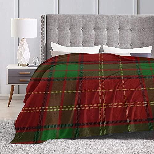 Jupsero Decke Kirk Clan Blanket Throwing Blanket Wear-Resistant Blanketsofa Blanket Soft Decoration Comfortable Blanket Suitable for Adult Parents Children Sofa Bed 50' X40