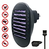 Indoor Plug-in Bug Zapper - Electronic Mosquito Killer lamp No Radiation - Insect Trap Light Eliminates Most Flying Pests for Bedroom, Kitchen, Office, Home