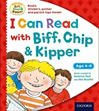 I Can Read with Biff, Chip and Kipper Pack (Biff Chip & Kipper) by Roderick Hunt (1-Jan-2015) Hardcover