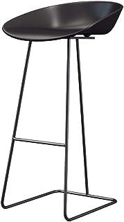 6d7af4df2b7d YUN Nordic Taburete de Bar en Hierro Forjado Taburete Simple de Respaldo  para el hogar Silla