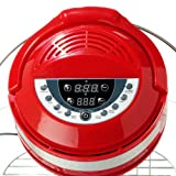 The Sharper Image Red Infrared, Carbon Heat and Convection Technology Super Wave Digital Oven
