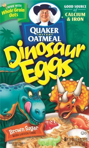 Quaker Instant Oatmeal Dinosaur Eggs by The Quaker Oats Company