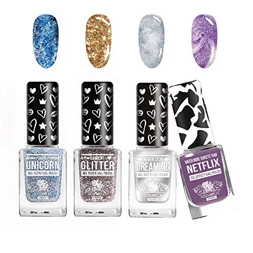 4 x Nagellack Set von CCL Beauty