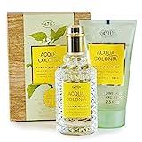 Acqua Colonia 4711 Lemon & Ginger Set - EdC + Shower Gel Edizione Limitata