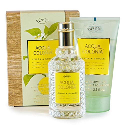 ACQUA COLONIA Lemon & Ginger Set (Eau de Cologne,50ml+Duschgel,75ml), 250 g