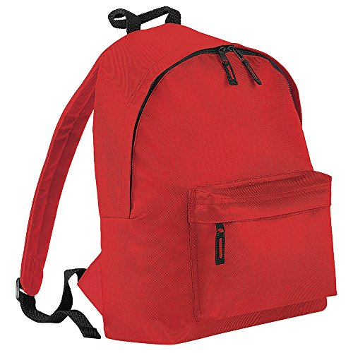 Bagbase Fashion Backpack/Rucksack (18 Litres) (Pack of 2) (One Size) (Bright Red)