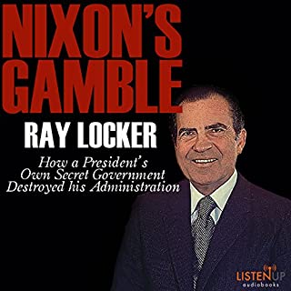 Nixon's Gamble audiobook cover art