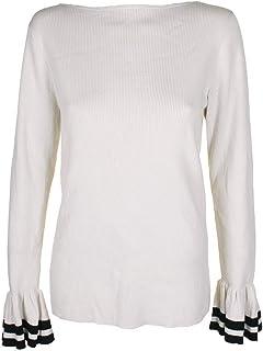Lauren by Ralph Lauren Beige Women's Size Medium M Ribbed Knit Top