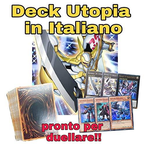 Yu-Gi-Oh! - Deck Completo - Numero 39 Utopia / Gagaga - Mazzo Completo di 40 Carte + Extra Deck Pronto per Duellare