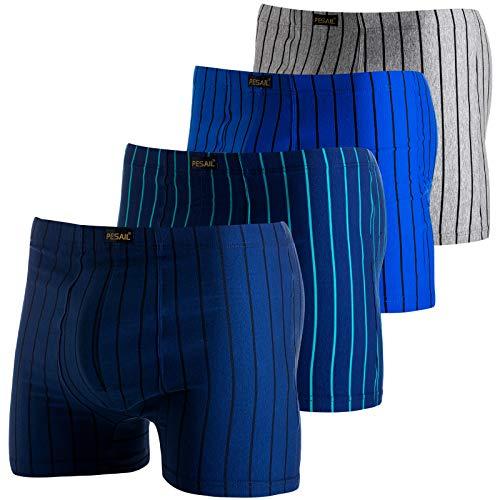Pesail Herren Boxershorts Unterwäsche Retroshorts Unterhose 10er Pack L XL 2XL 3XL Baumwolle 2XL