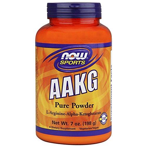 AAKG Arginina Pure Powder 198g - Now Sports