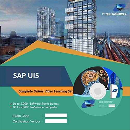 SAP UI5 Complete Video Learning Solution Set (DVD)